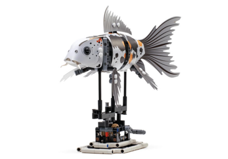 LEGO FORMA Koi Model