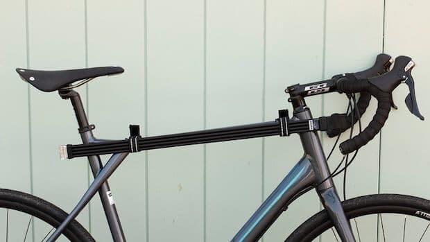 Litelok Silver Fahrradschloss am Rad