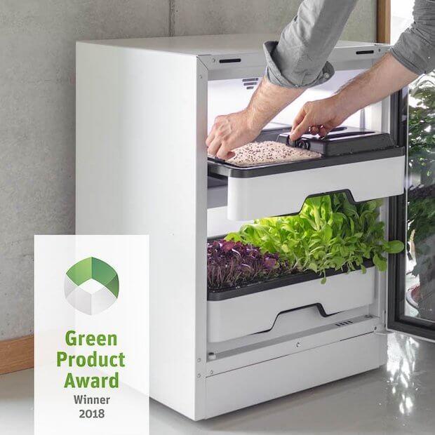 Plantcube - Vertical Farming für die Küche