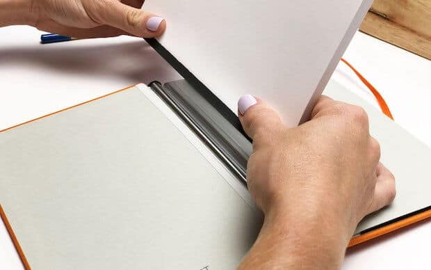 Rekonect Notebook - Blätter einfügen