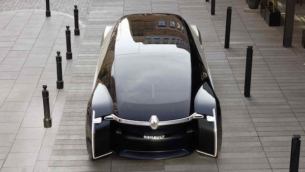 Renault EZ-ULTIMO Heckansicht