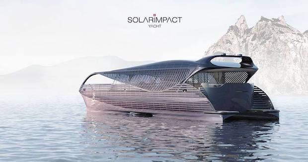 Solarimpact Yacht mit Solarantrieb