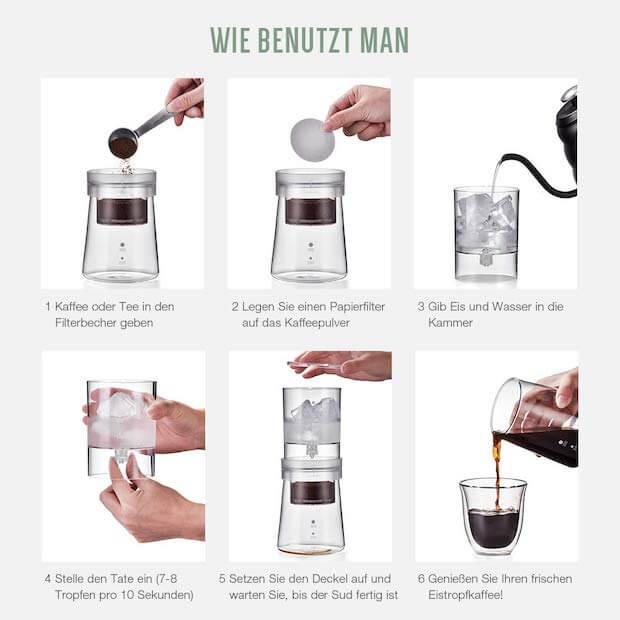 Soulhand Cold Brew - Kalte Kaffee Zubereitung