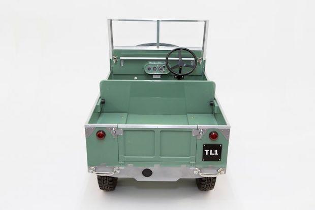 Toylander 1 Land Rover - Ladefläche