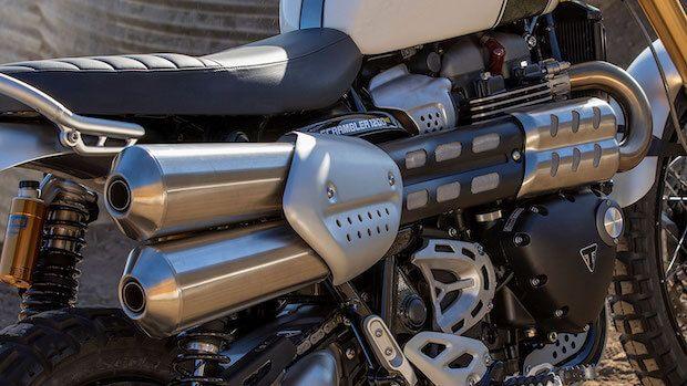 Triumph Scrambler 1200 Details