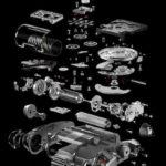 Urwerk UR-111c Bauteile
