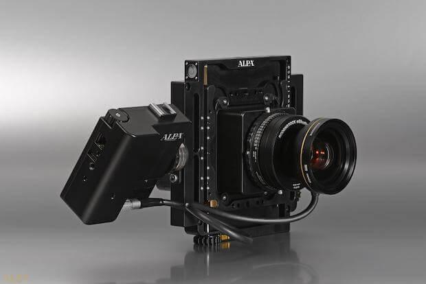 Alpa 12 Plus Kamera Frontansicht