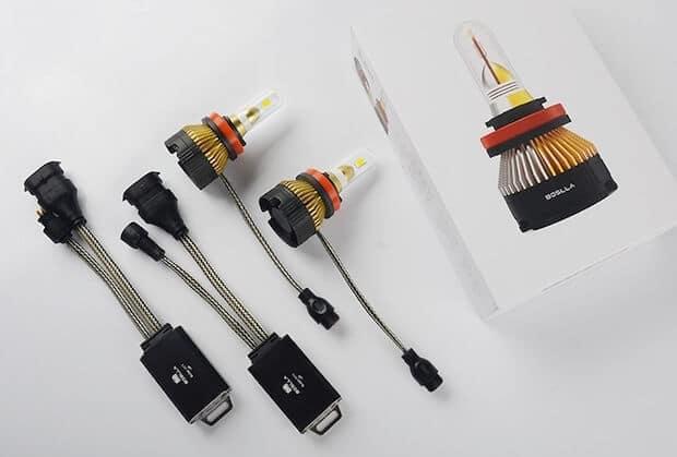 Boslla Bullet LED Scheinwerfer Set