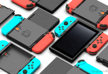 Flip Grip für Nintendo Switch