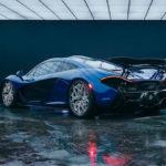HRE3D+ Reifen auf McLaren