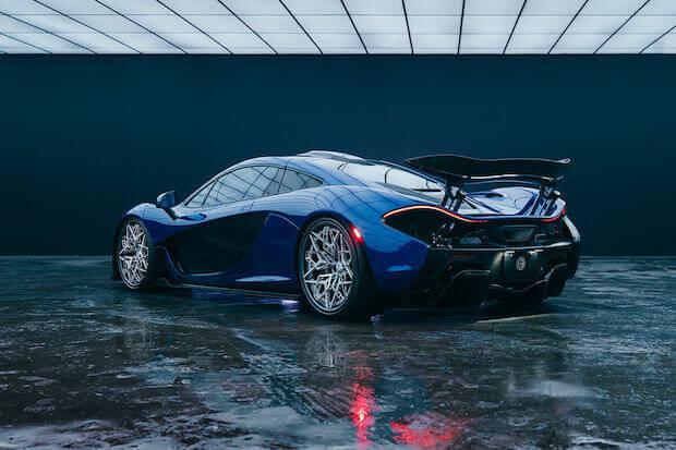 HRE3D+ Titan-Felge auf einem McLaren