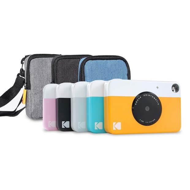 Kodak Printomatic Sofortbildkamera - Farben und Zubehör
