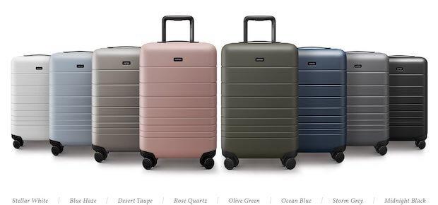 MONOS Koffer Farben
