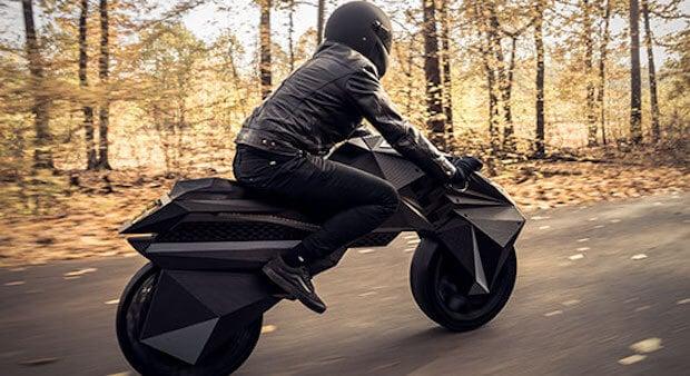 Nera E-Motorbike Fahrt
