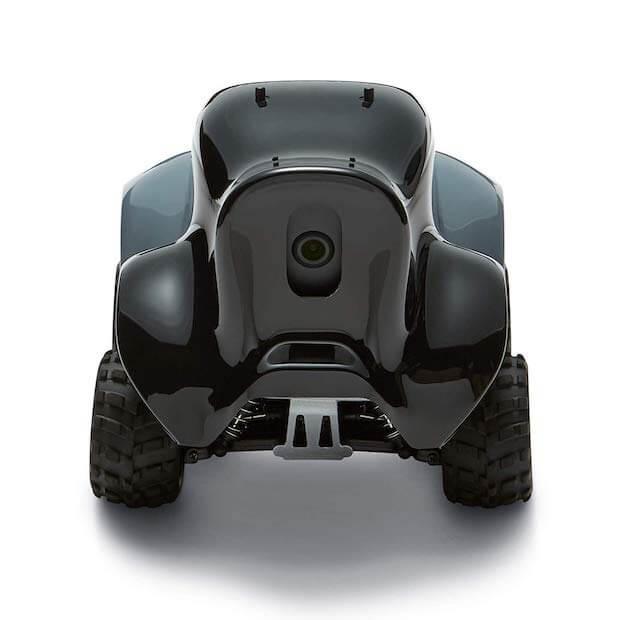AWS Deepracer - Vorderansicht und Kamera