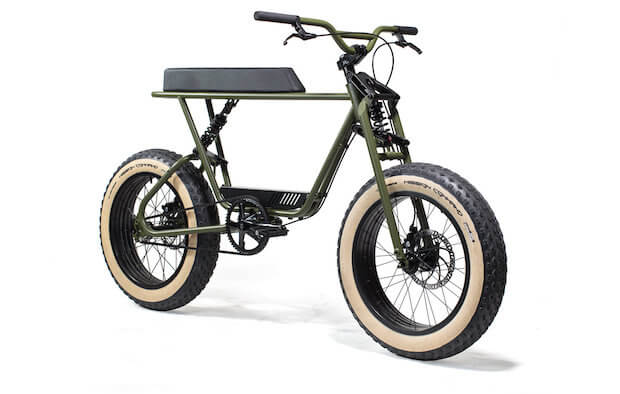Buzzraw X Bike in Army Green