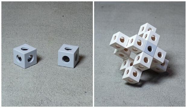 Ghostkubes - inspiriert vom Origami