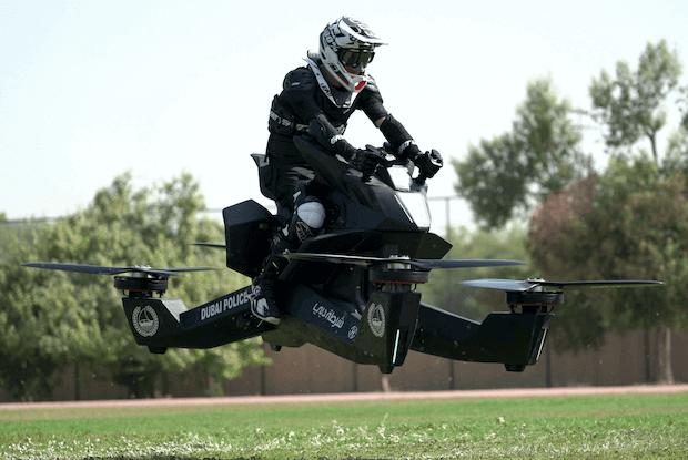 Hoverbike S3 2019 - Flug