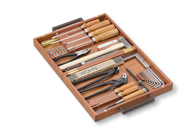 WohnGeist Werkzeugkoffer geöffnet
