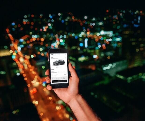 Audi on demand Smartphone App