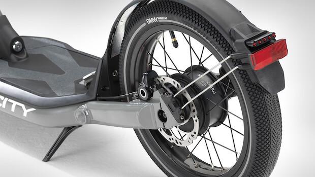 BMW Motorrad X2 City Antrieb