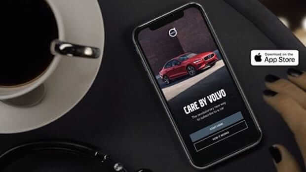 Care by Volvo Autoabo Smartphone App