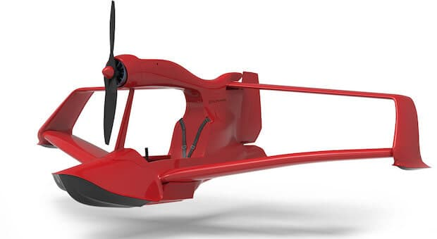 FlyNano Wasserflugzeug Details