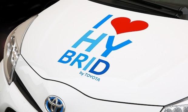Hybridauto Abbildung