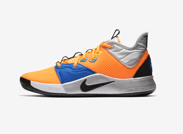 Nike PG 3 NASA Sneaker Seitenansicht