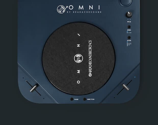 OMNI Plattenspieler Details
