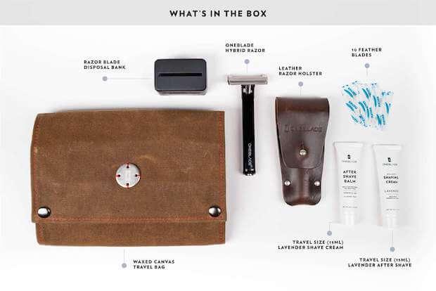 OneBlade HYBRID Boxinhalt