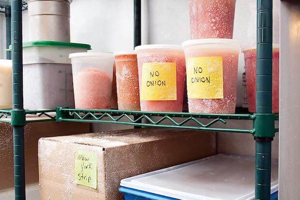 Post-it Extrem Notes auf Eisfläche