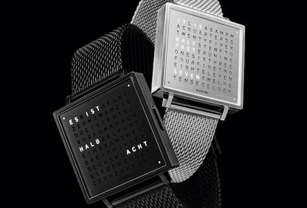 QLOCKTWO W Uhr in verschiedenen Farben