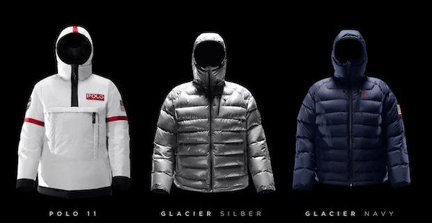 Ralph Lauren Polo 11 + Glacier in Silber und Navy