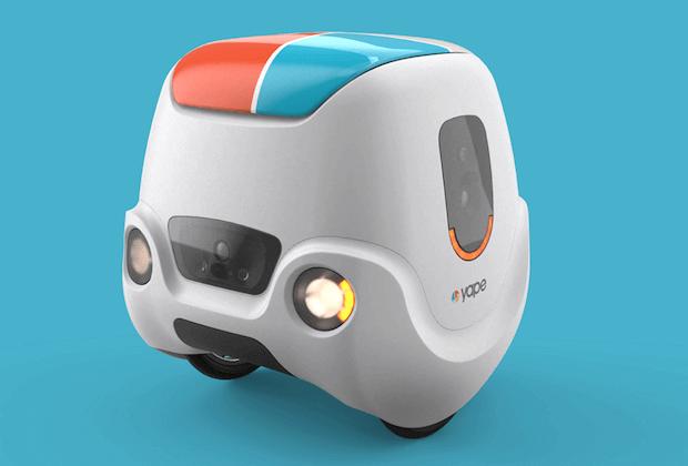 YAPE Lieferroboter von e-Novia