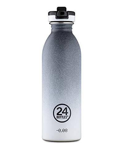 24bottles - Tempo Grey Sportflasche