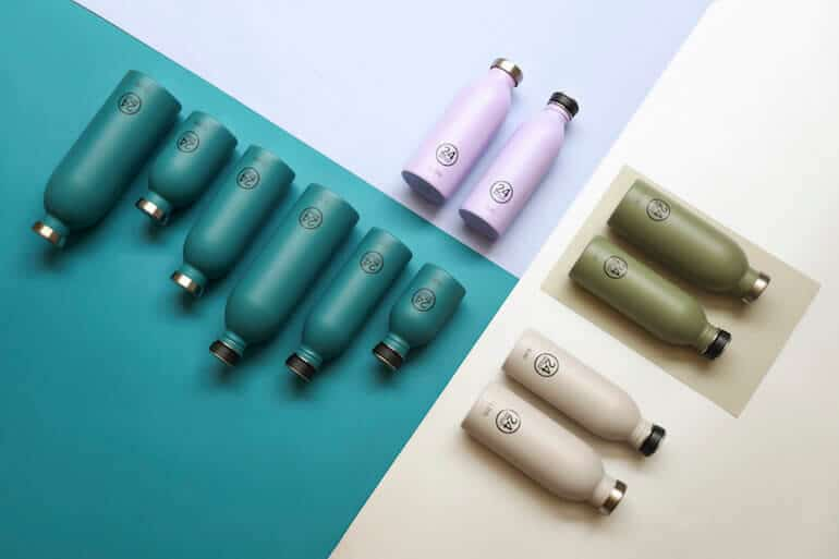 24bottles Trinkflaschen aus Edelstahl