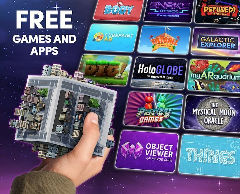 Merge Cube Apps