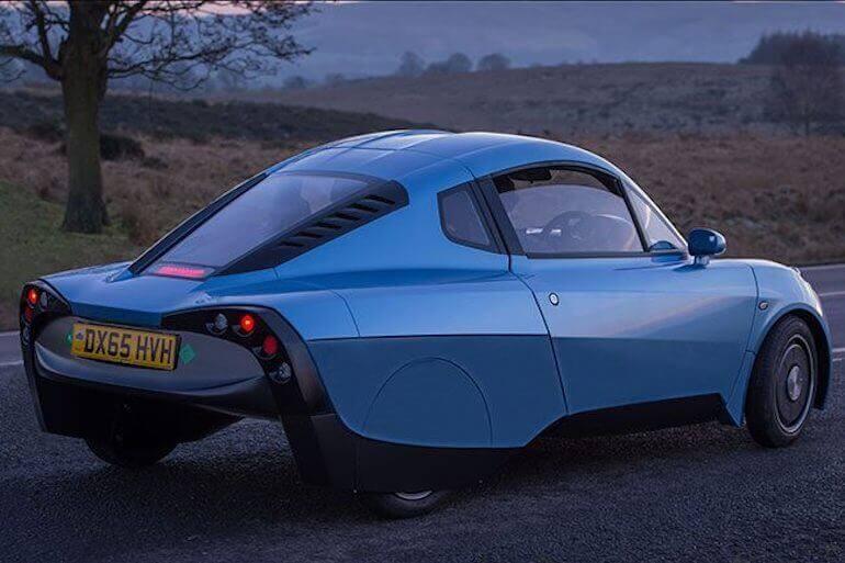 Rasa Wasserstoffauto Detailansicht