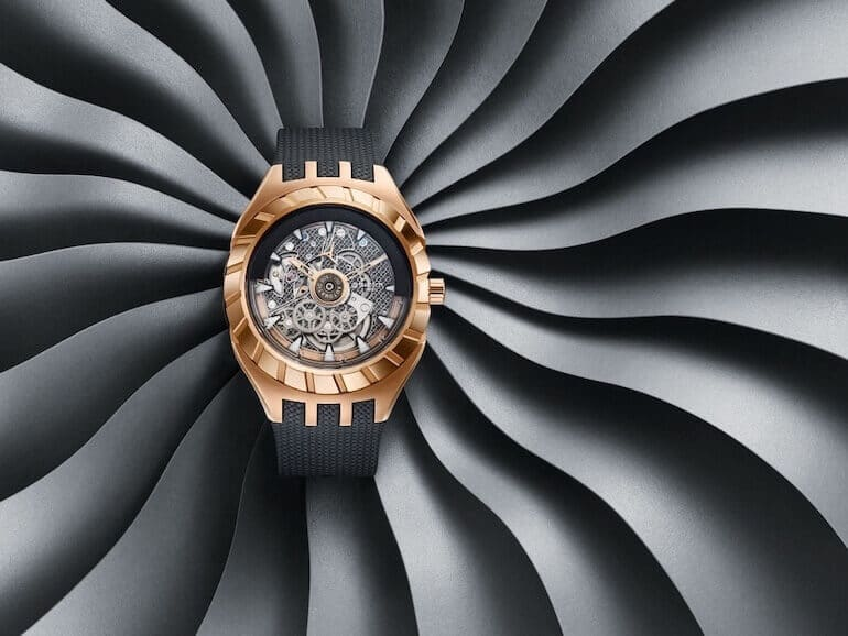 Swatch Flymagic Uhr iin Schwarz