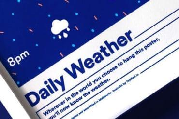 Typified Wetterposter Mitteilungen