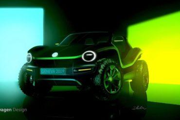 VW Dune Buggy Elektroauto