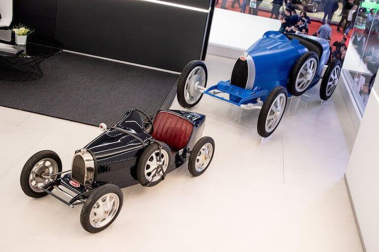 Bugatti Baby II Größenvergleich