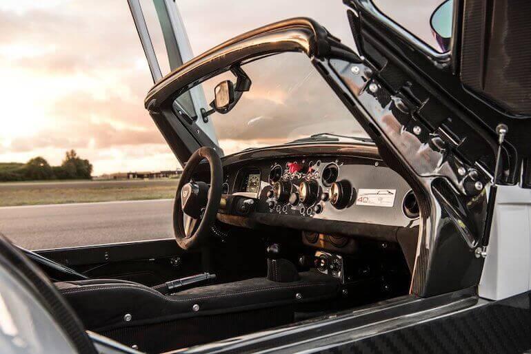 Donkervoort D8 GTO-40 Cockpit