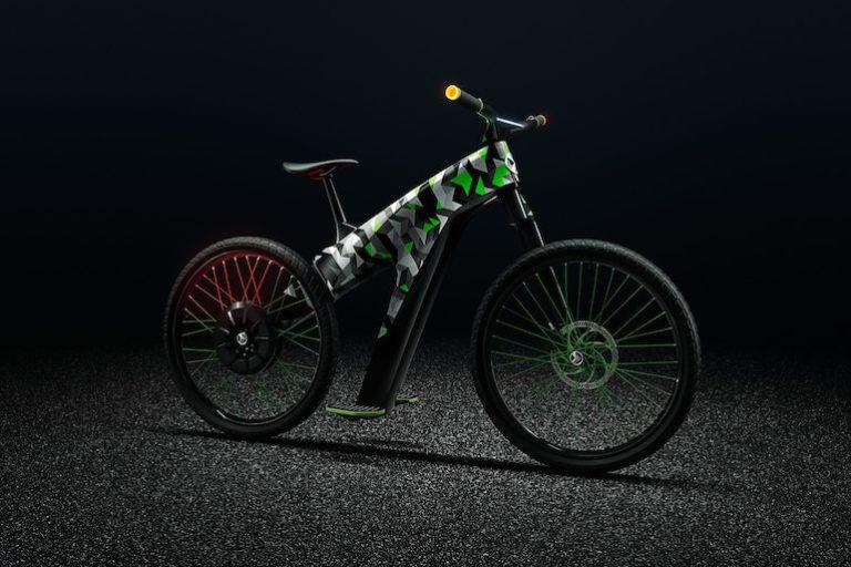 Klement E-Bike Studie von Skoda