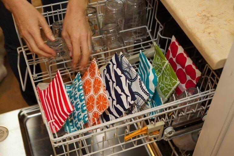 LunchSkins - wiederverwertbare Papiertüten