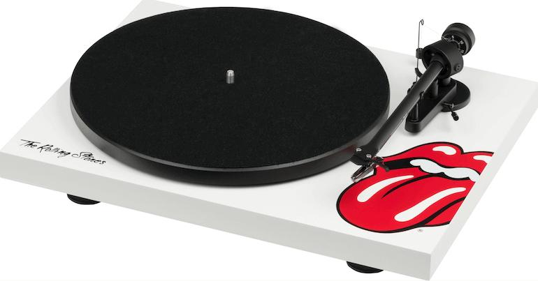 Rolling Stones Recordplayer