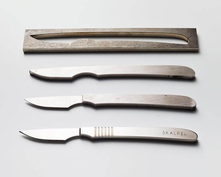 Skalpel Steakmesser Herstellung
