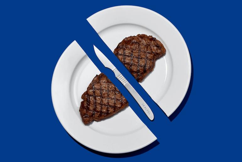 Skalpel Steak Knive