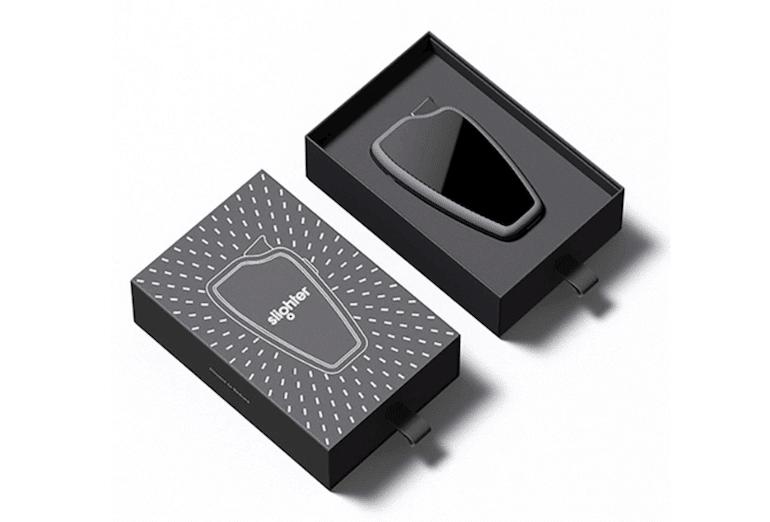 Slighter Feuerzeug - Verpackung
